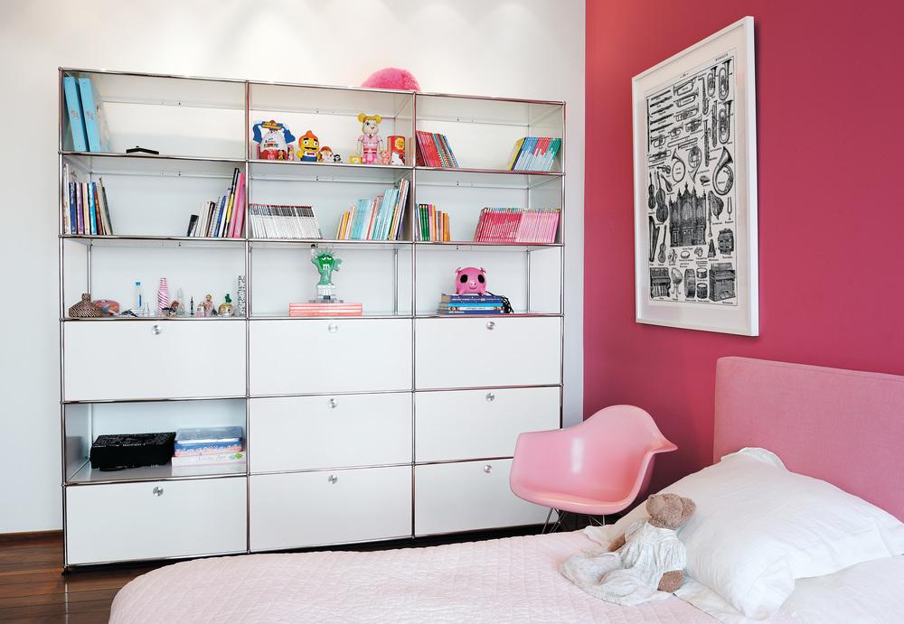 USM para niños. Sistema de almacenaje moderno para habitación infantil. USM for kids