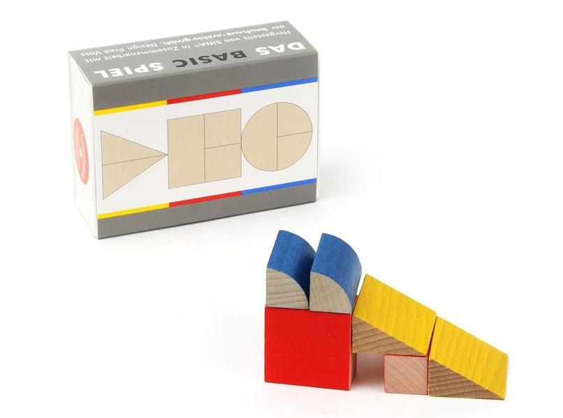 Bauhaus Das Basic Spiel juego de madera básico