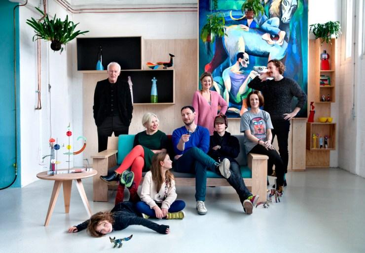Studio ROOF familia foto de equipo