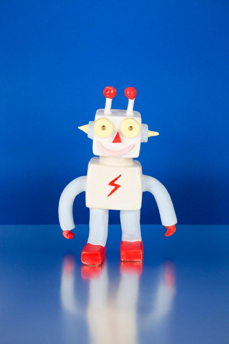 robot de cerámica de Lusesita