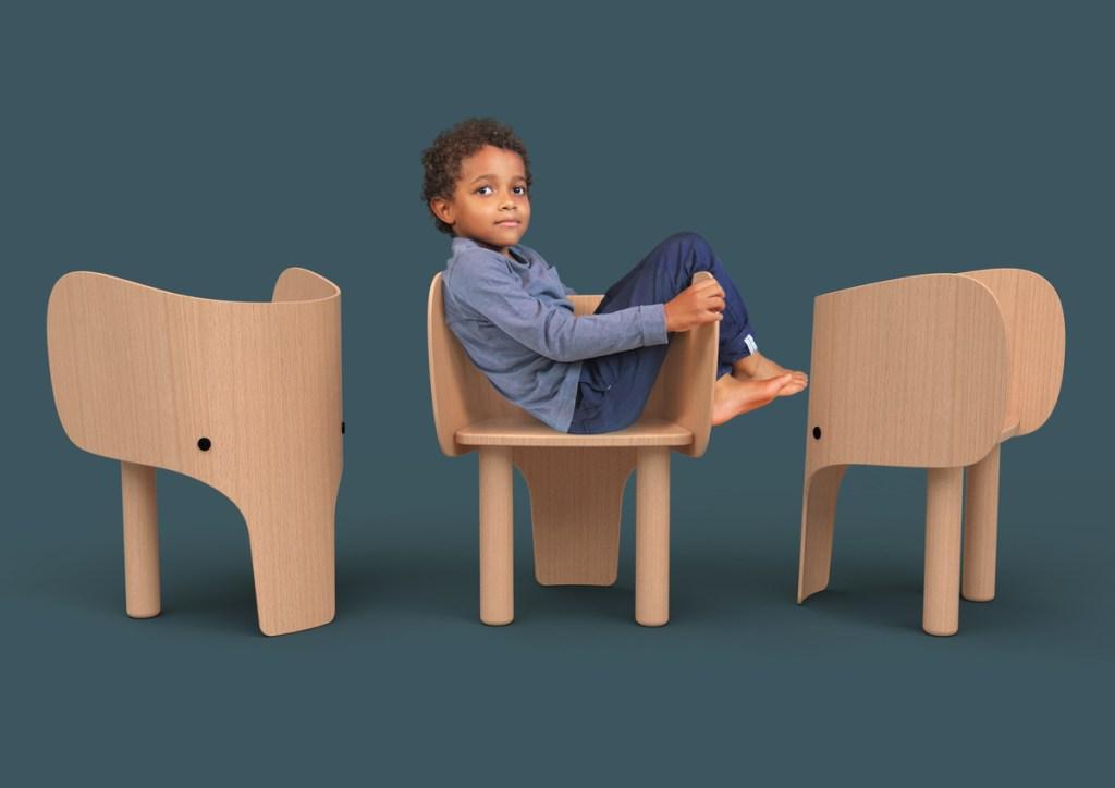 Silla elefante y mesa de Marc Venot para EO