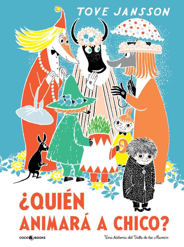 Coco Books. Cubierta libro Moomin. Design Market Barcelona 2019