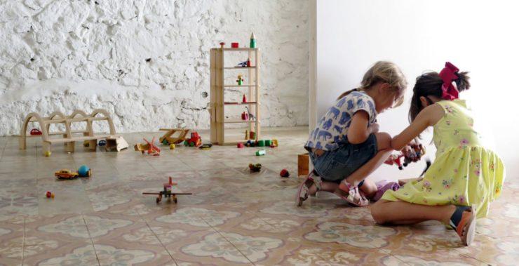 Olabaá. Juegos de madera arquitectura para niños. Design Market Barcelona 2019