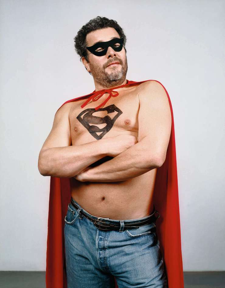 Philippe Starck Superman retrato