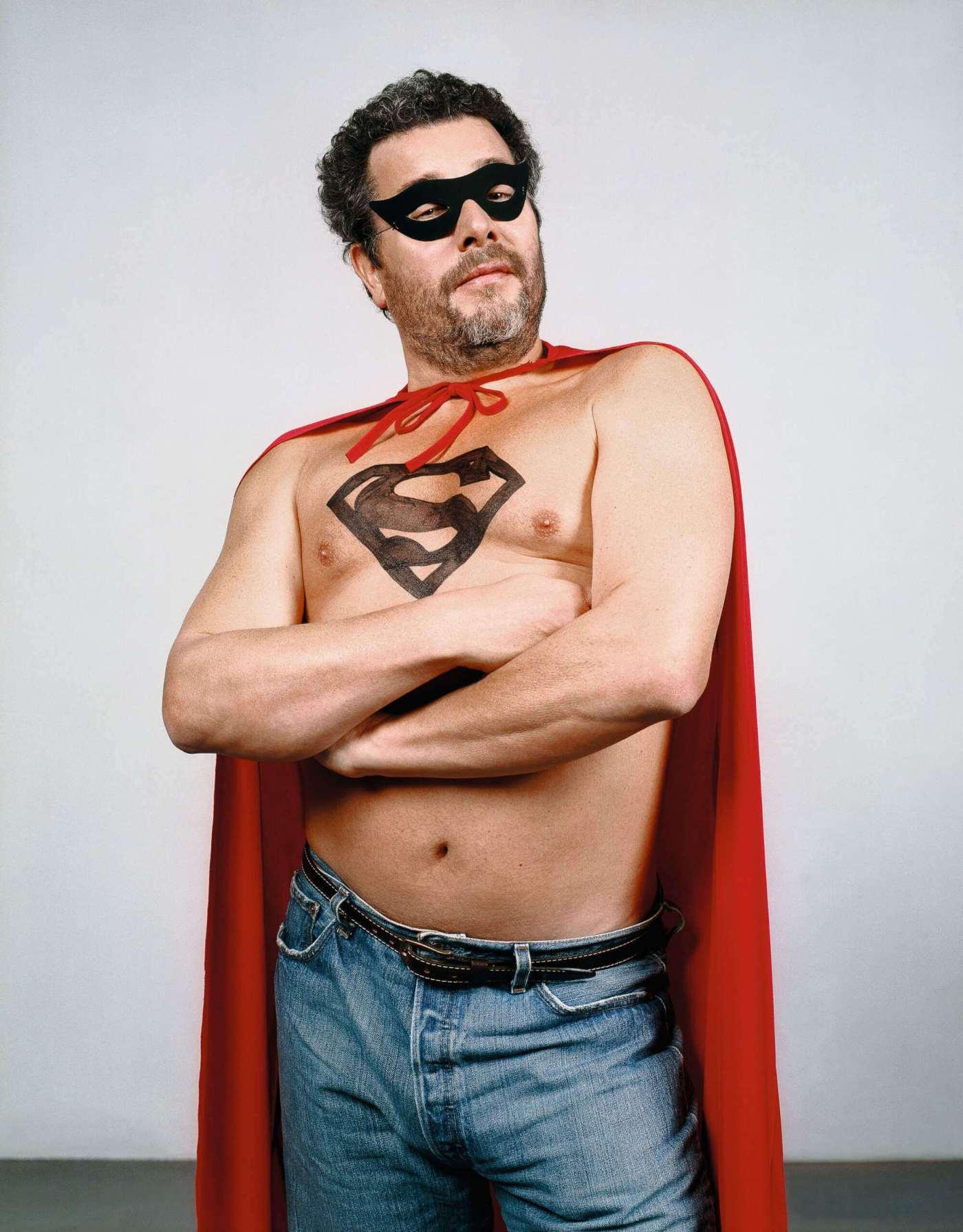 Philippe Starck Superman retrato