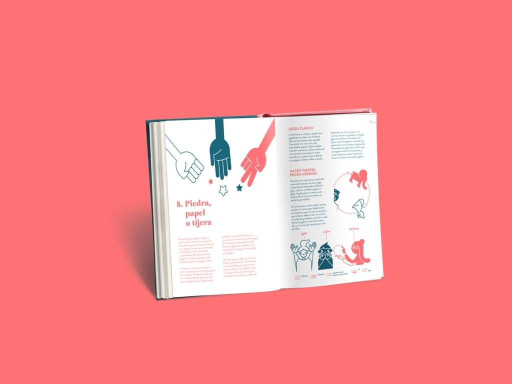 Me&Mine libro 40 juegos universales sin caducidad y sin genero. Piedra, papel o tijera