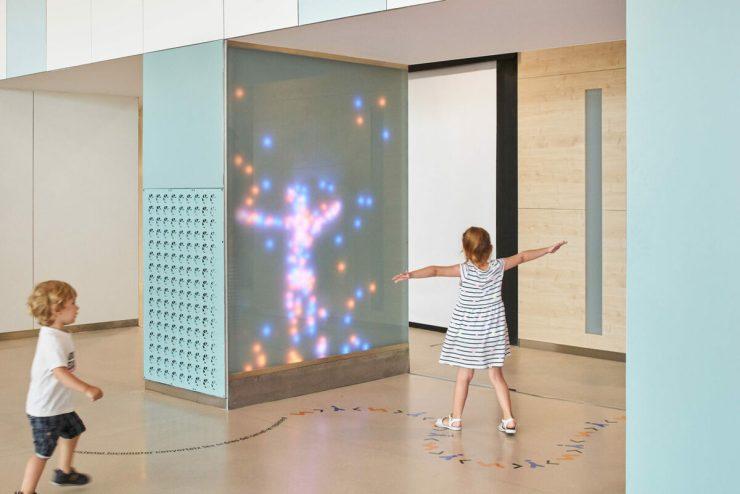 Rai Pinto. Ambientación y diseño interior Hospital Sant Joan de Déu. Vestíbulo