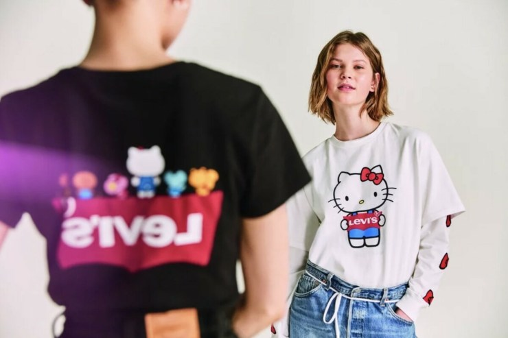 Levis x Hello Kitty. 45 aniversario 2019