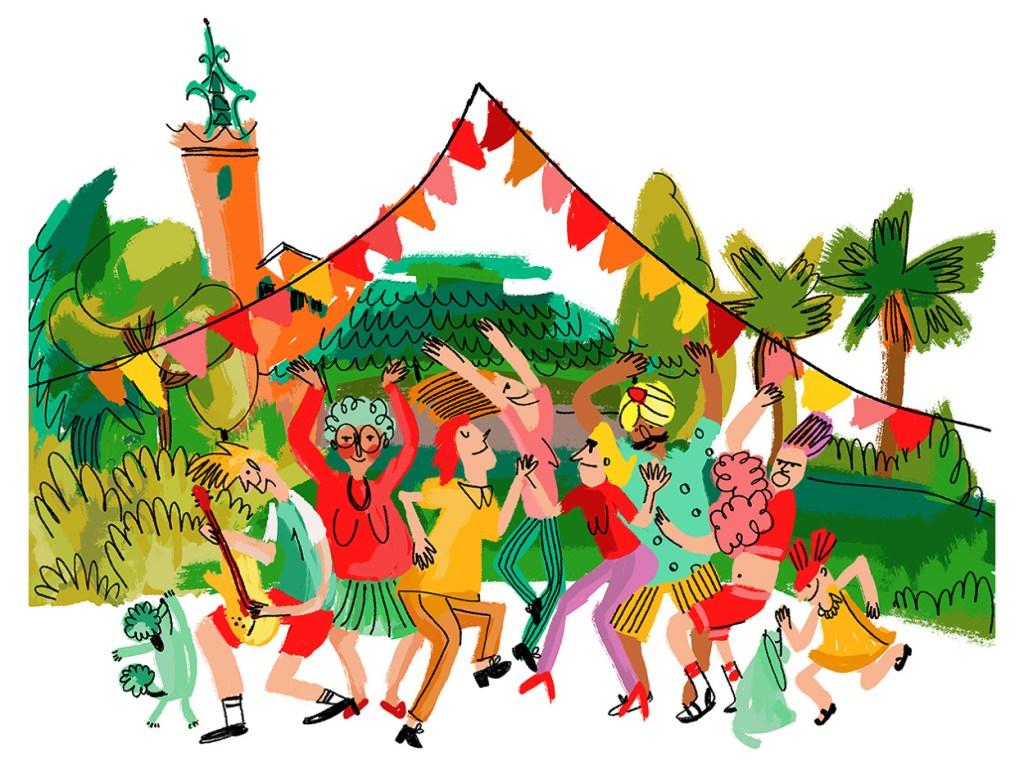 Flic Festival Barcelona. Ilustración Marina Sáez