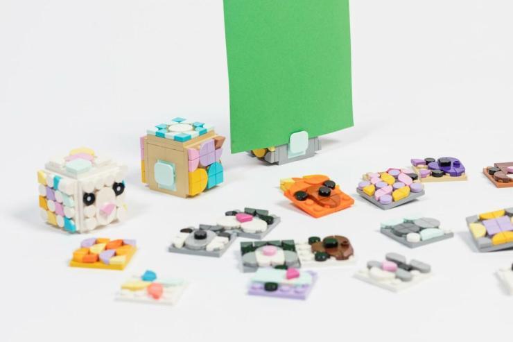 Lego Dots. Piezas 2D