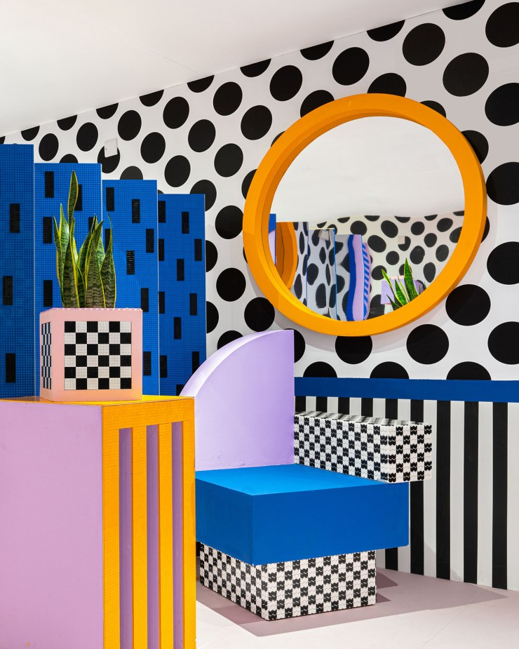 House of Dots. Camille Walala x Lego. Londres
