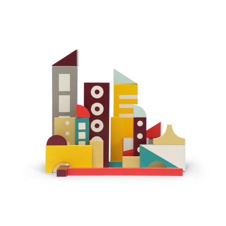 juguetes de diseño Ikonic. casas de madera Floris Hovers
