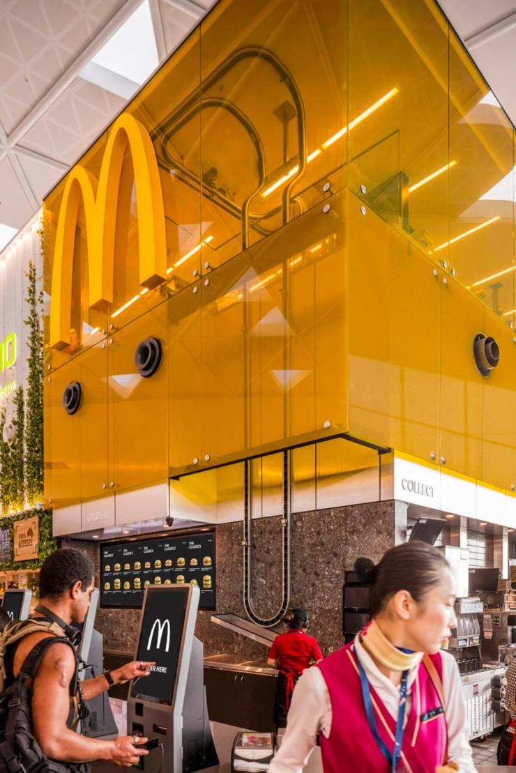 McDonalds Sidney aeropuerto