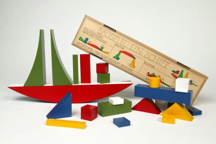 Top 10 diseño infantil. Juguetes de la Bauhaus