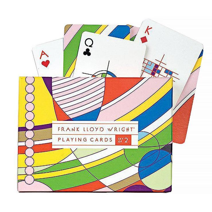 Juego de cartas Frank Lloyd Wright