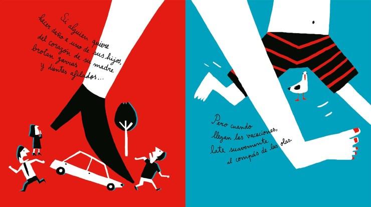 """""""Corazón de madre"""", Isabel Minhós Martins y Bernardo P. Carvalho, Libros del Zorro Rojo. Libros infantiles recomendados para el Día de la Madre"""