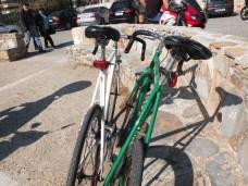 Το ποδήλατο πλέον του αδελφού μου, κάνοντας μια μικρή βόλτα προς γλυφάδα παρέα