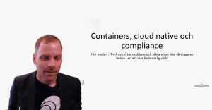 Vitalis 2020: containers, cloud native and compliance
