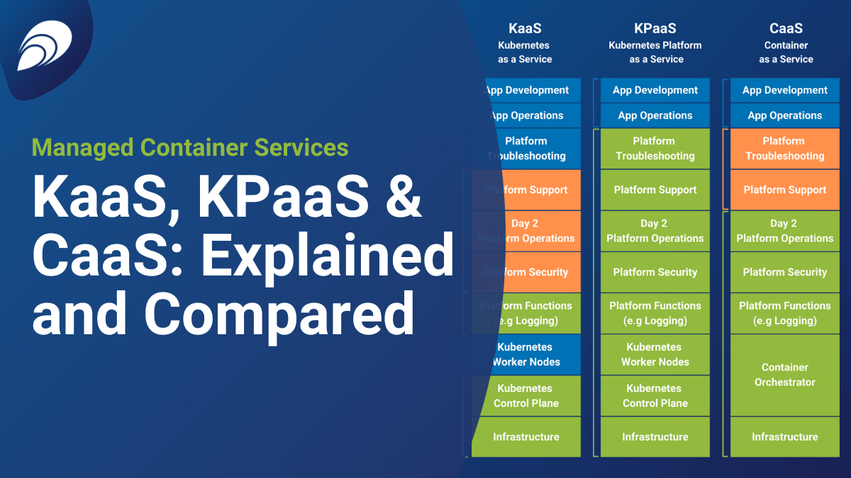 Managed Container Services: KaaS, KPaaS & CaaS Explained and Compared