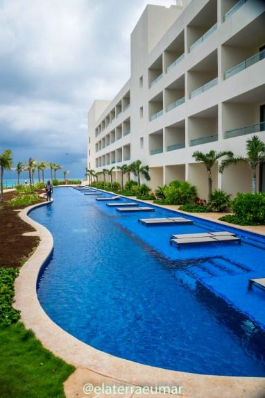 Piscinas do Hotel Hyatt Zyva Cancún