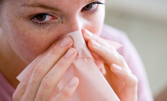 Нейтрофилы в мазке из носа у ребенка