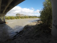 View from under the bridge 8th Apr 2017