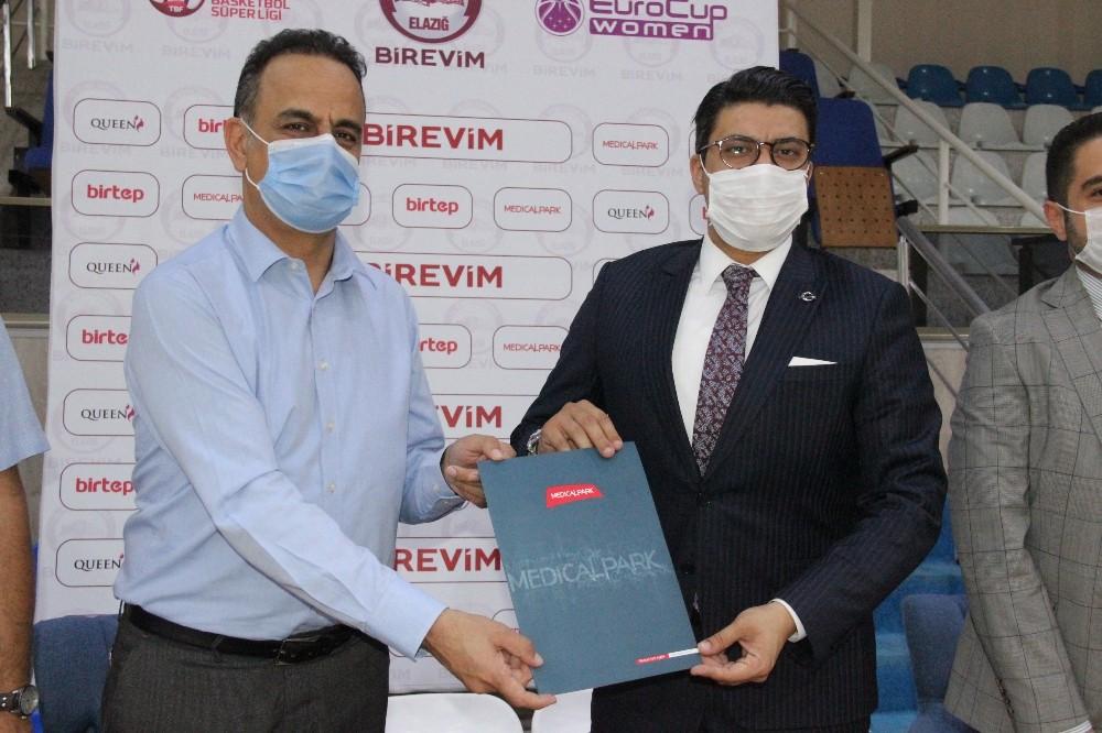 Medical Park, Elazığ İl Özel İdare basketbol takımının sağlık sponsoru oldu