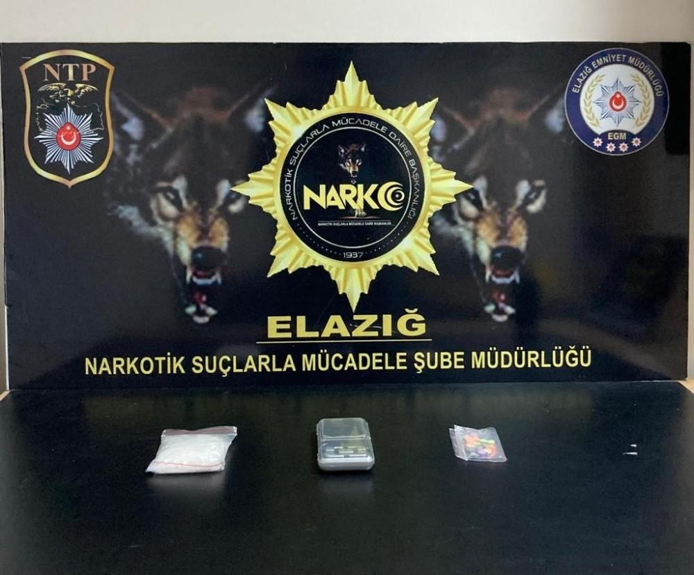 Uyuşturucu ve hassas terazi ile yakalanan şüpheli tutuklandı