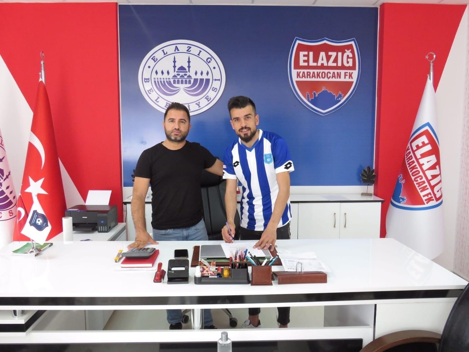 Elazığ Karakoçan FK, Cuma Ali Üzüm'ü kadrosuna kattı