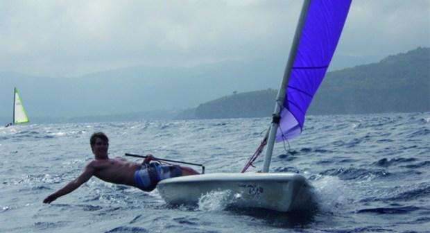zeilen, elba, sailing, laser pico