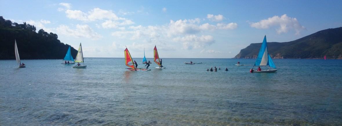 zeilen,windsurfen,kajakken