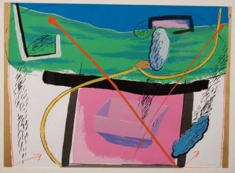 Lluvia Lluvia 21 1/2(in) x 30(in) 1990