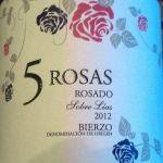5 Rosas sobre lías 2012.
