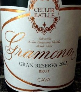 Gramona Celler Batlle 2002