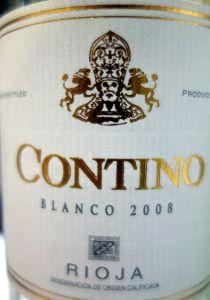 Contino blanco 2008