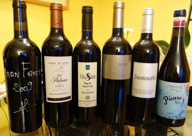 Los vinos de la Ribera del Duero