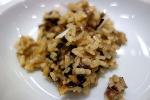 Arroz meloso. Protos