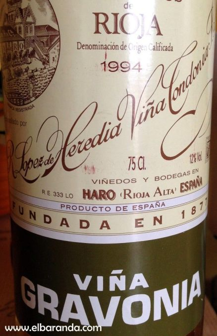 Viña Gravonia 1994