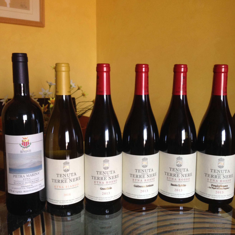Los vinos del Etna