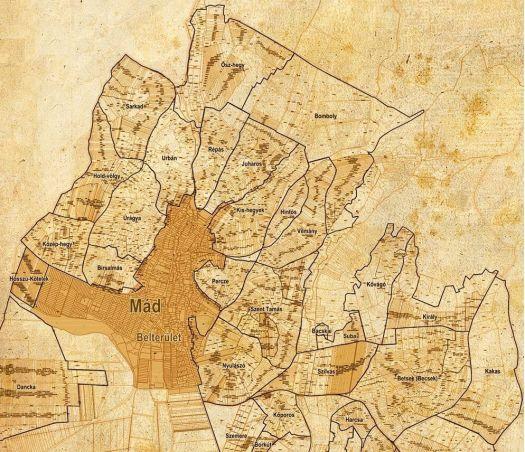 Mapa de Mad y Crus