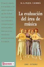 La evaluación del área de música