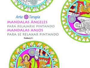 Mandalas Ángeles para relajarse pintando