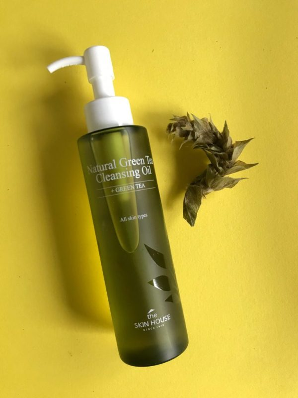 the skin house natural green tea oil cleanser