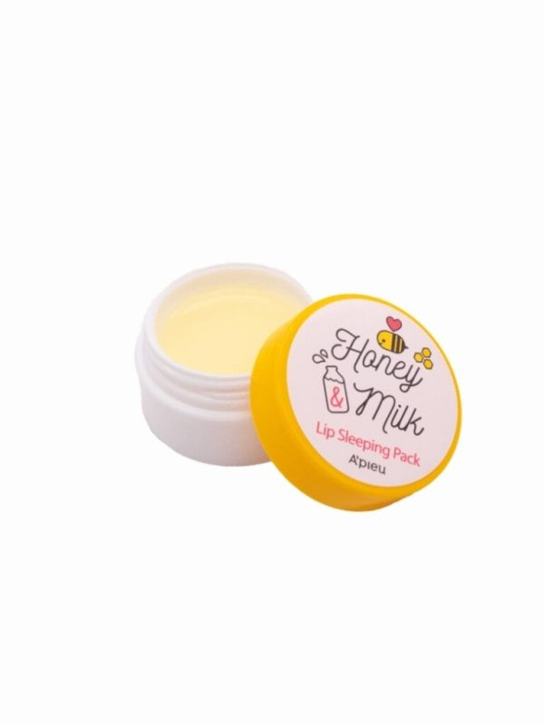 a'pieu honey &milk lip sleeping pack