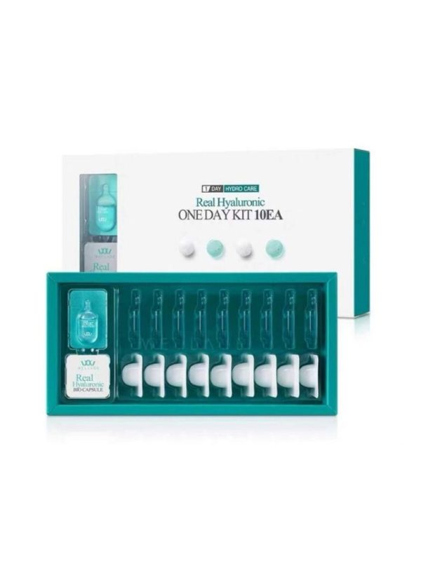 wellage real hyaluronic one day kit 10 pcs