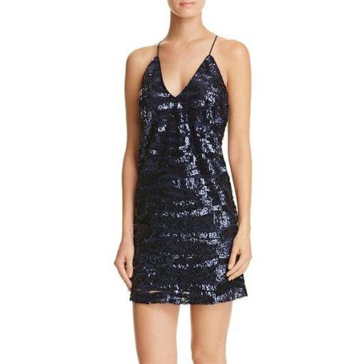 Lucy Paris Mavi Kokteyl Elbisesi Kiralık
