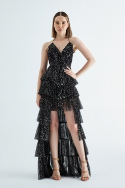 Alfabeta Siyah Gece Elbisesi