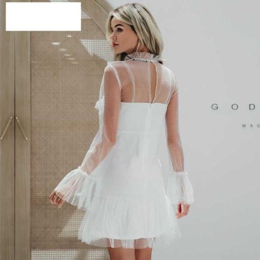 Özel Tasarım Kiralık Mini Gece Elbisesi