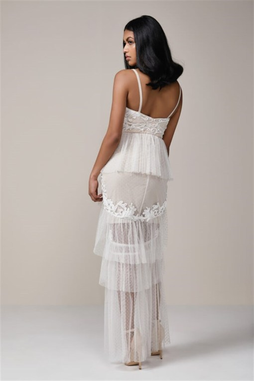 Ivory Kiralık Save The Date Elbisesi Modelleri