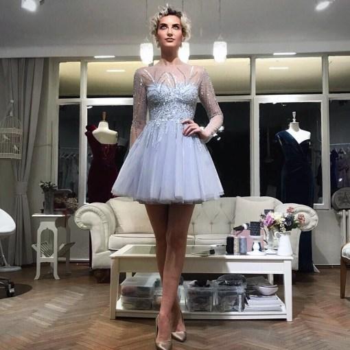 Özgül Engin Kiralık Mini Elbise Modelleri